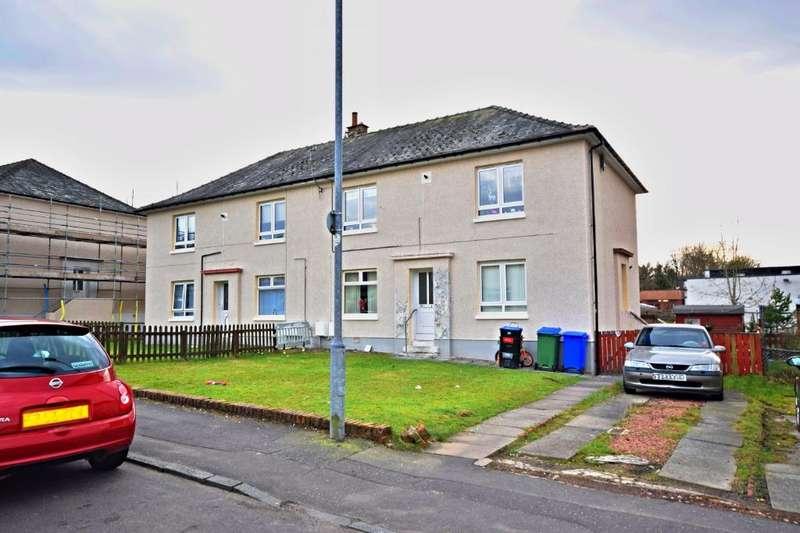 2 Bedrooms Flat for sale in Hopes Avenue, Dalmellington, South Ayrshire , KA6 7RW