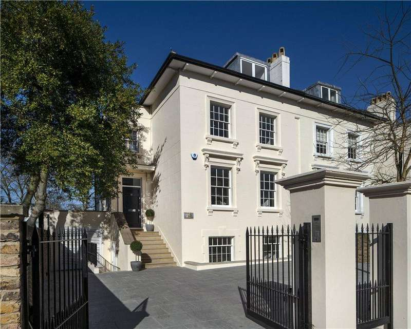 6 Bedrooms Semi Detached House for sale in Queens Grove, St John's Wood, London, NW8