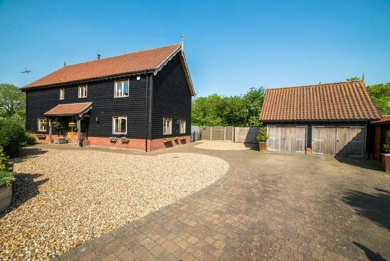 4 Bedrooms Detached House for sale in Abbotts Meadow, Redlingfield