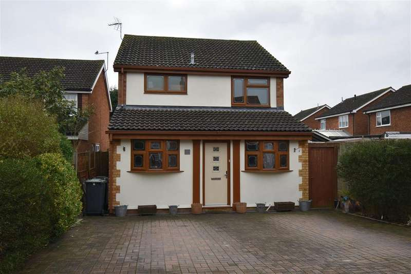 3 Bedrooms Detached House for sale in Hillson Close, Marston Moretaine, Bedford