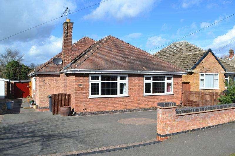 3 Bedrooms Detached Bungalow for sale in Brookside, Burbage, LE10 2TJ