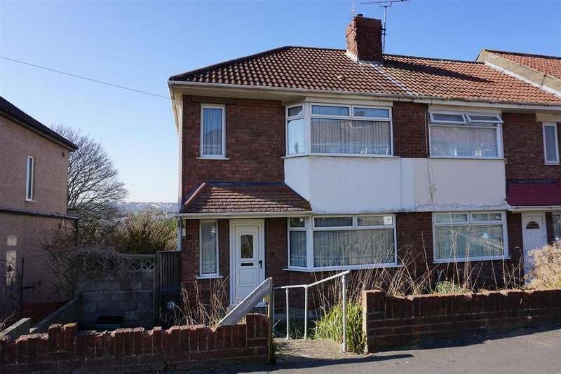 3 Bedrooms End Of Terrace House for sale in Allison Avenue, Bristol