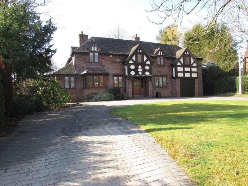 5 Bedrooms Detached House for sale in Private Road, Wythall