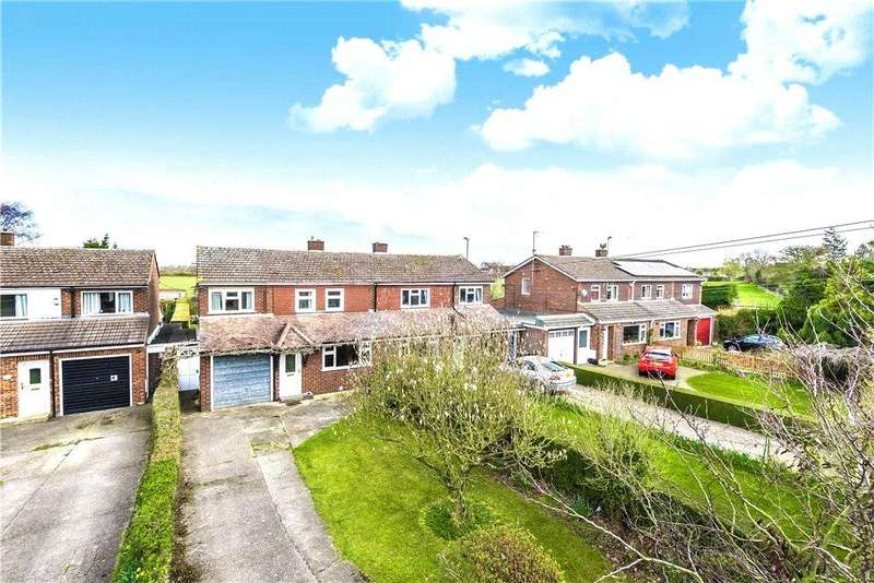4 Bedrooms Semi Detached House for sale in Crawley Road, Cranfield, Bedford, Bedfordshire