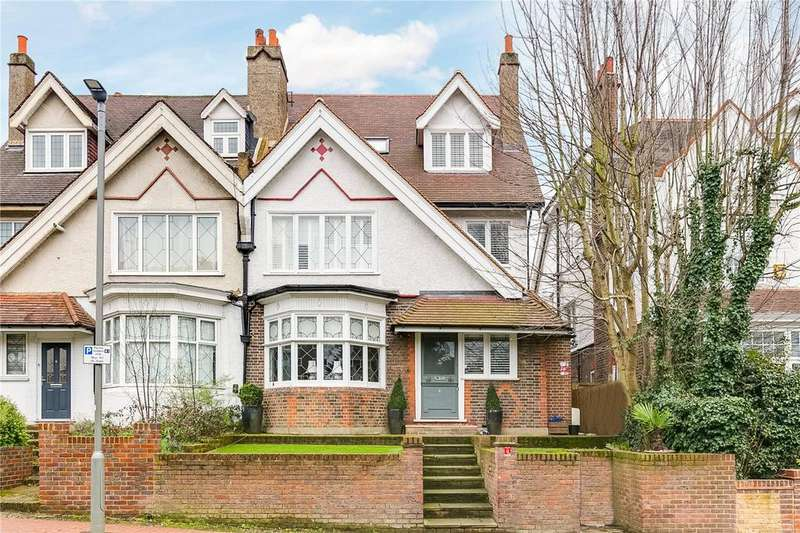 5 Bedrooms Semi Detached House for sale in Rodway Road, Putney, London