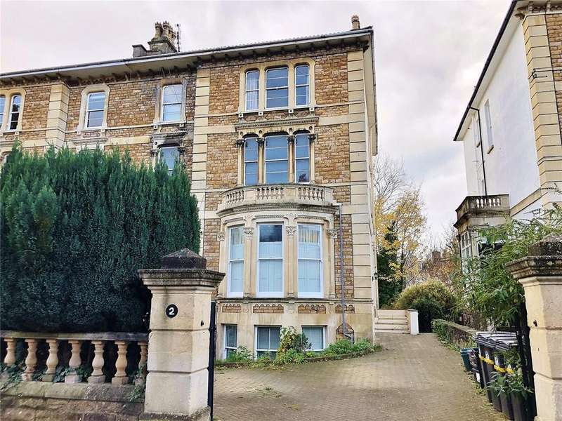 2 Bedrooms Apartment Flat for sale in Osborne Road, Clifton, Bristol, Somerset, BS8