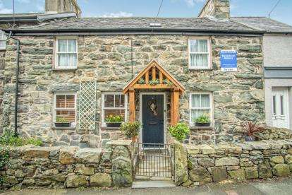 4 Bedrooms Terraced House for sale in Pentre'r Efail, Harlech, Gwynedd, LL46