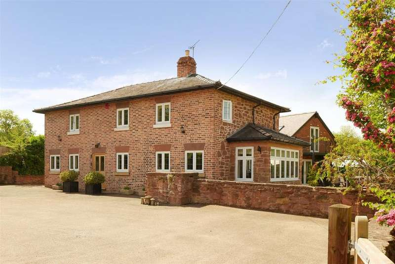 5 Bedrooms Detached House for sale in Twining Hill, Erbistock, Wrexham