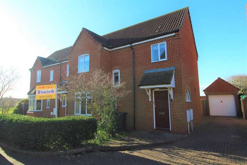3 Bedrooms Semi Detached House for sale in Goodwin's Yard, Great Barford, Bedford, MK44