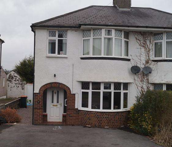 3 Bedrooms Semi Detached House for sale in Beaufort Place, St Julians, Newport, Newport NP19