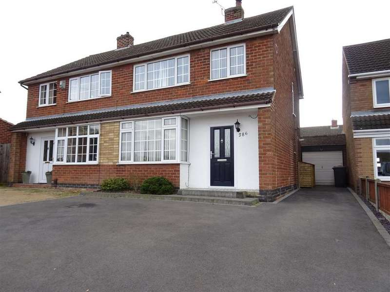 3 Bedrooms Semi Detached House for sale in Hall Lane, Whitwick, Leicestershire