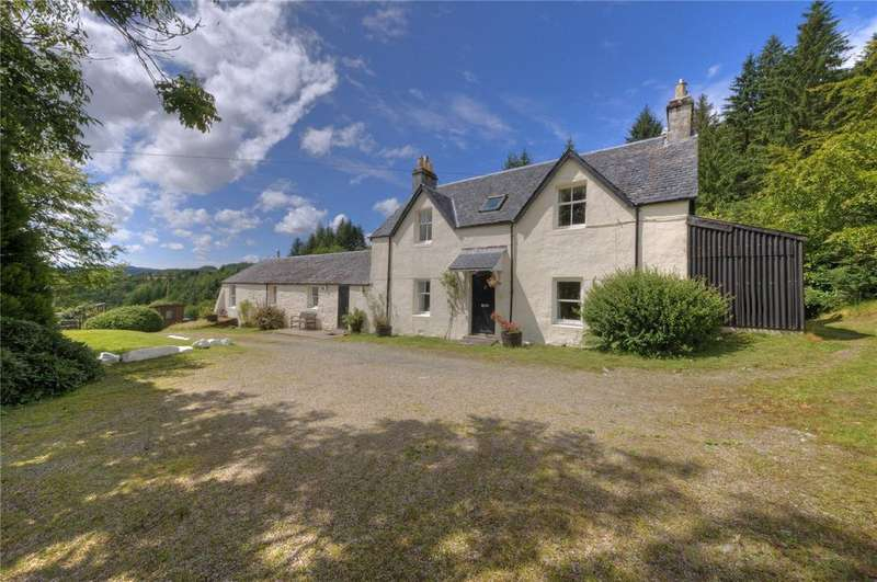 4 Bedrooms Detached House for sale in Kilmun Farmhouse, Dalavich, Taynuilt, Argyll and Bute, PA35