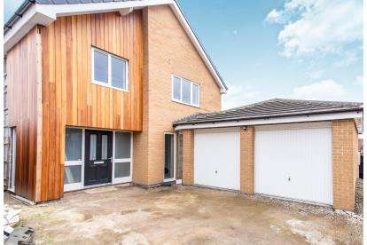 3 Bedrooms Detached House for sale in Coventry Close, Midway, Swadlincote, Derbyshire