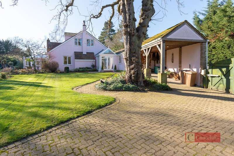 3 Bedrooms Detached House for sale in Stockings Lane, Little Berkhamsted, Hertford