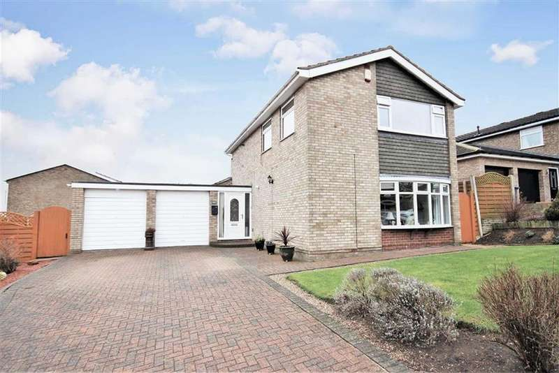 4 Bedrooms Detached House for sale in Chester Close, Washingborough, Lincoln, Lincolnshire