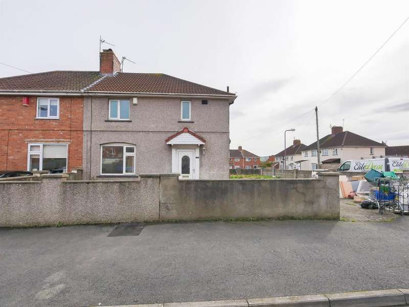 3 Bedrooms Semi Detached House for sale in Hartcliffe Road, Knowle, Bristol, BS4 1EZ