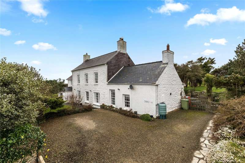 4 Bedrooms Detached House for sale in Bank House, Solva, Haverfordwest, Pembrokeshire