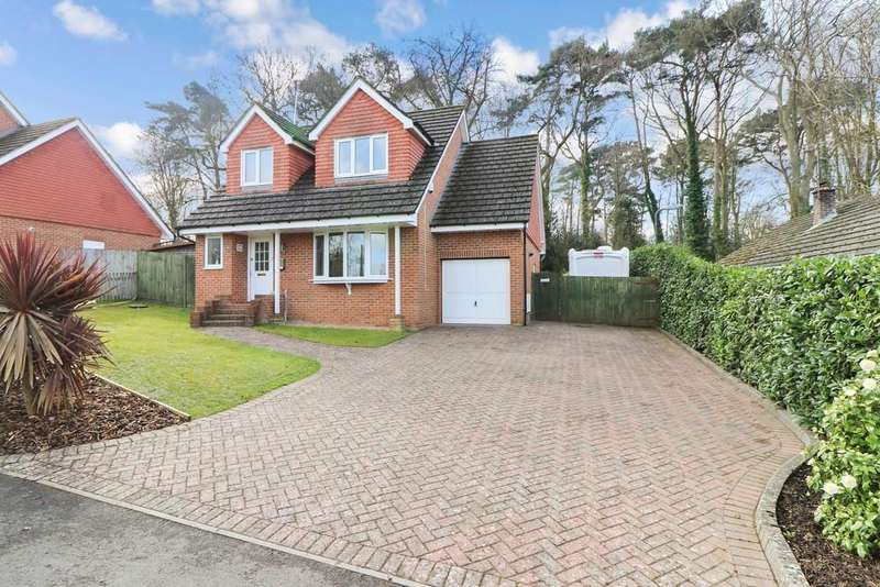 3 Bedrooms Detached House for sale in Woodside Way, Hedge End