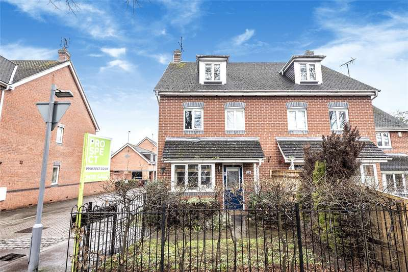 4 Bedrooms Semi Detached House for sale in Marlow Court, All Hallows Road, Reading, Berkshire, RG4