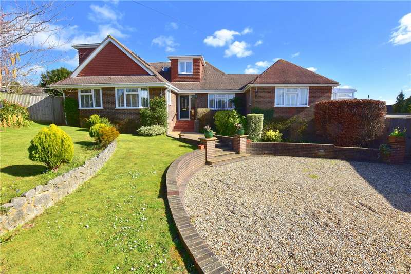 5 Bedrooms Detached House for sale in Lynchmere Avenue, North Lancing, West Sussex, BN15
