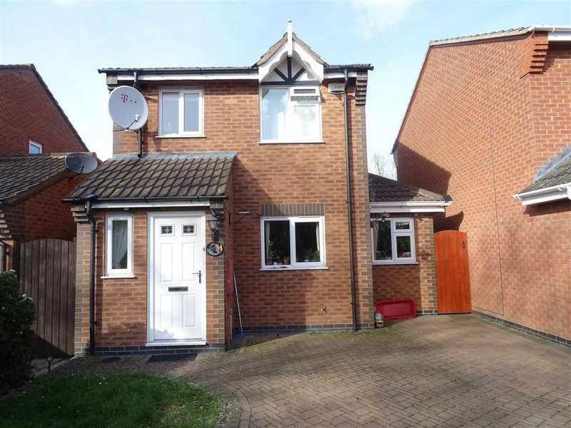 3 Bedrooms Detached House for sale in Kinross Way, Hinckley
