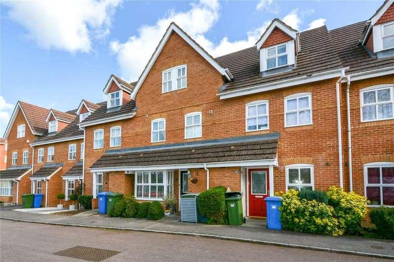 4 Bedrooms Terraced House for sale in Bevan Gate, Bracknell, Berkshire, RG42
