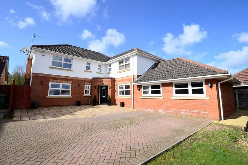 5 Bedrooms Detached House for sale in Lady Richeld Close, Sandymoor