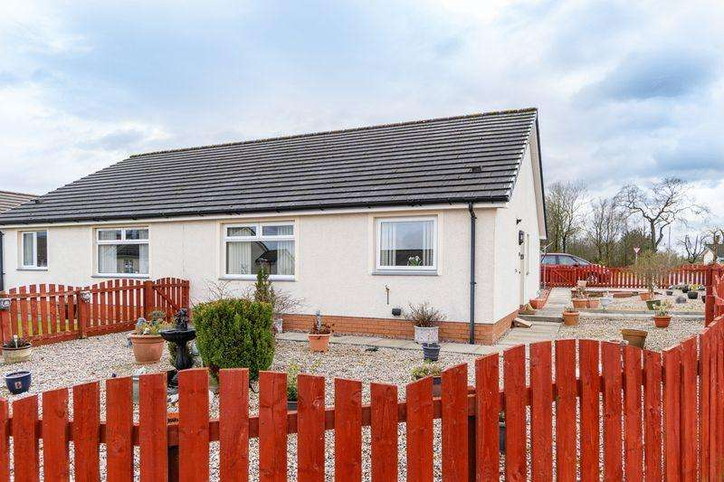 2 Bedrooms Semi Detached Bungalow for sale in 6 Highhouse View, Auchenleck, KA18 2LD