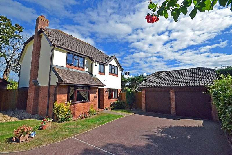 4 Bedrooms Detached House for sale in Countess Wear, Exeter