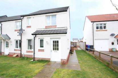 3 Bedrooms End Of Terrace House for sale in Ladyacre Court, Irvine, North Ayrshire