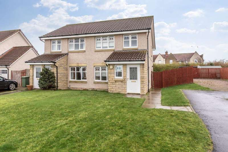 3 Bedrooms Semi Detached House for sale in 5 Forthview Court, TRANENT, EH33 1FD