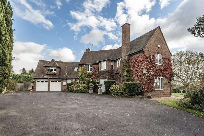 4 Bedrooms Detached House for sale in Willowbrook House, Preston Road, Lowsonford, B95