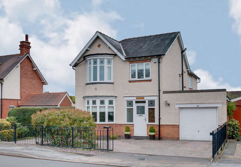 4 Bedrooms Detached House for sale in Station Road, Studley, B80 7HS