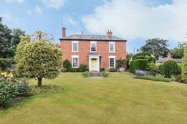 5 Bedrooms Unique Property for sale in Hardwick House, Queen Street, Southwell, Nottinghamshire NG25 0AA