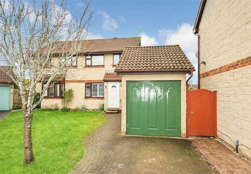 3 Bedrooms Semi Detached House for sale in Gleneagles Close, Nailsea, Bristol, North Somerset