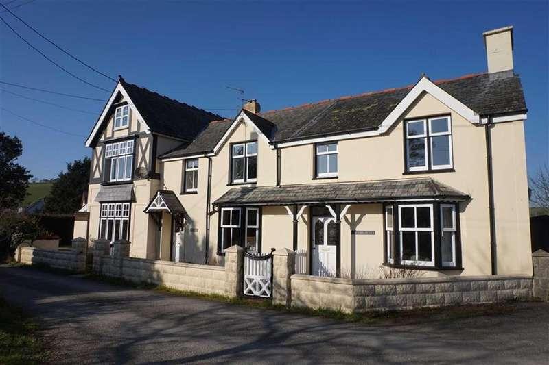 4 Bedrooms Semi Detached House for sale in Llys Iwan, Dole, Llandre, Aberystwyth, Ceredigion, SY24