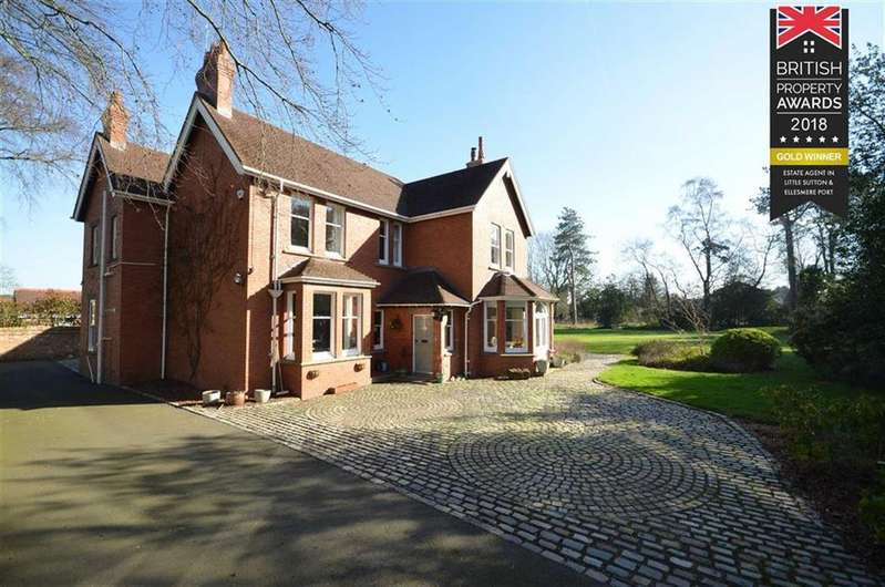 5 Bedrooms Detached House for sale in School Lane, Childer Thornton, CH66