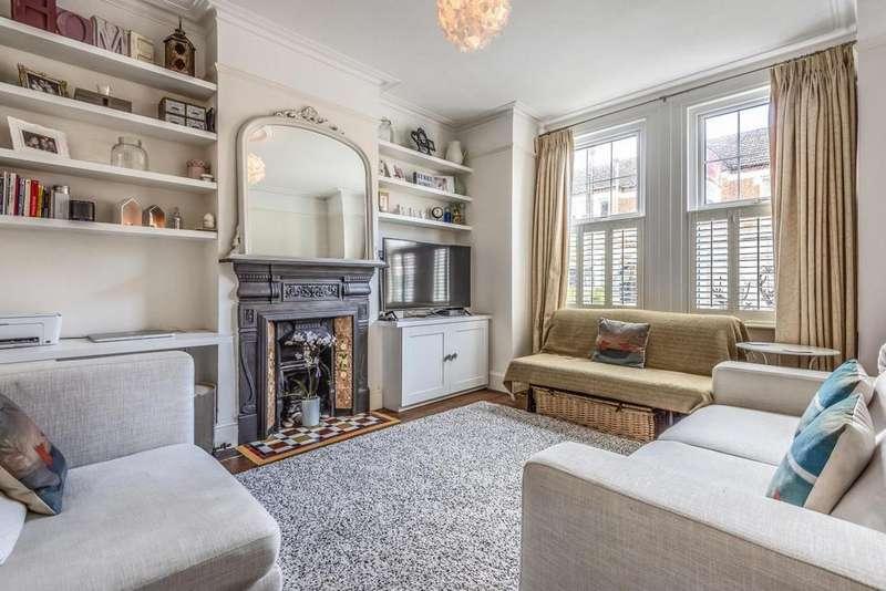 2 Bedrooms Flat for sale in Quinton Street, Earlsfield
