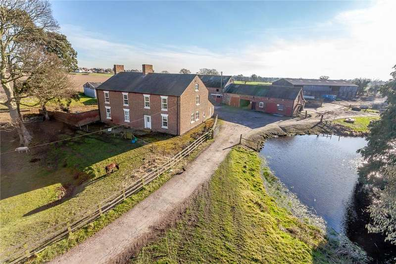 7 Bedrooms Barn Conversion Character Property for sale in Marton, Winsford, Cheshire
