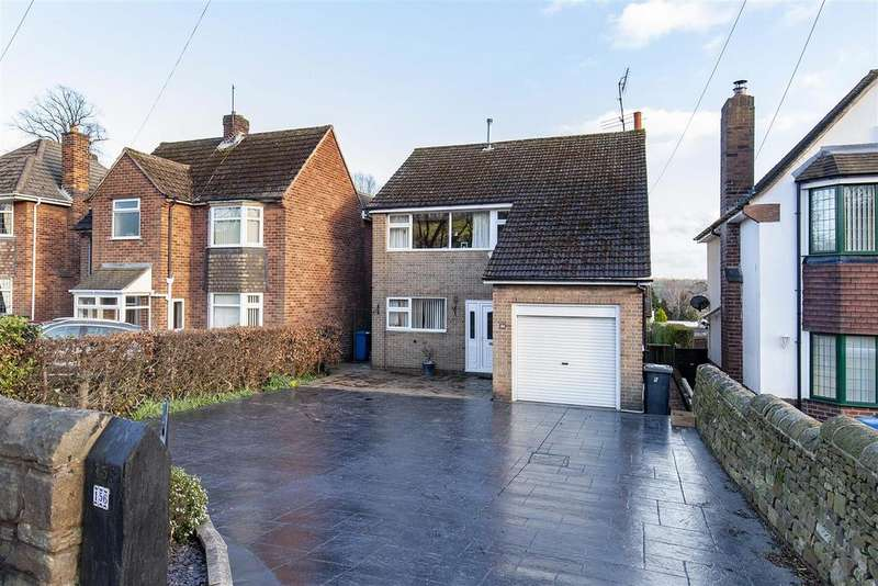 3 Bedrooms Detached House for sale in High Street, Old Whittington, Chesterfield