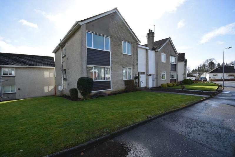 2 Bedrooms Flat for sale in Olive Road, Kilmarnock, KA1