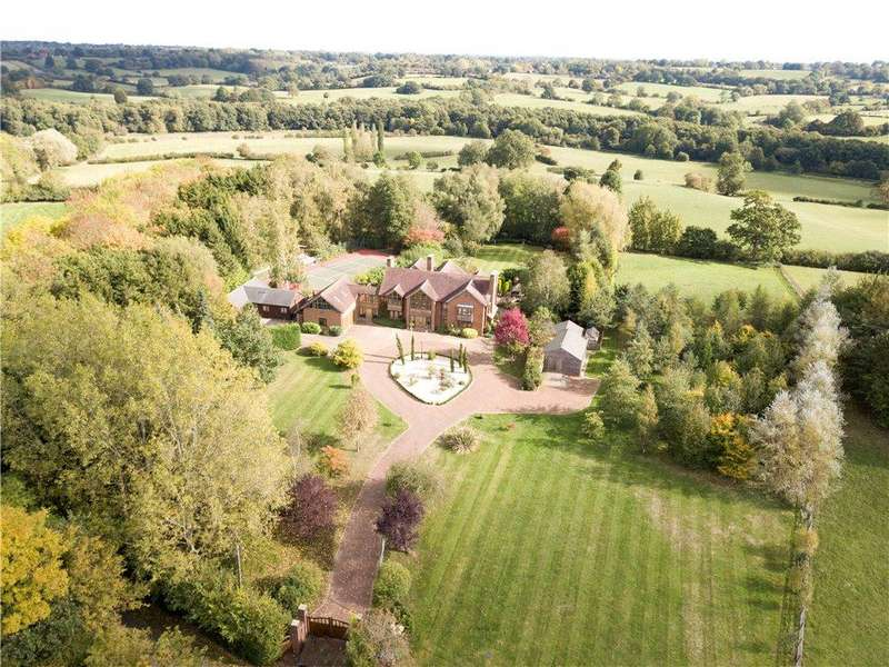 5 Bedrooms Detached House for sale in Rookery Lane, Lowsonford, Henley-in-Arden, Warwickshire, B95