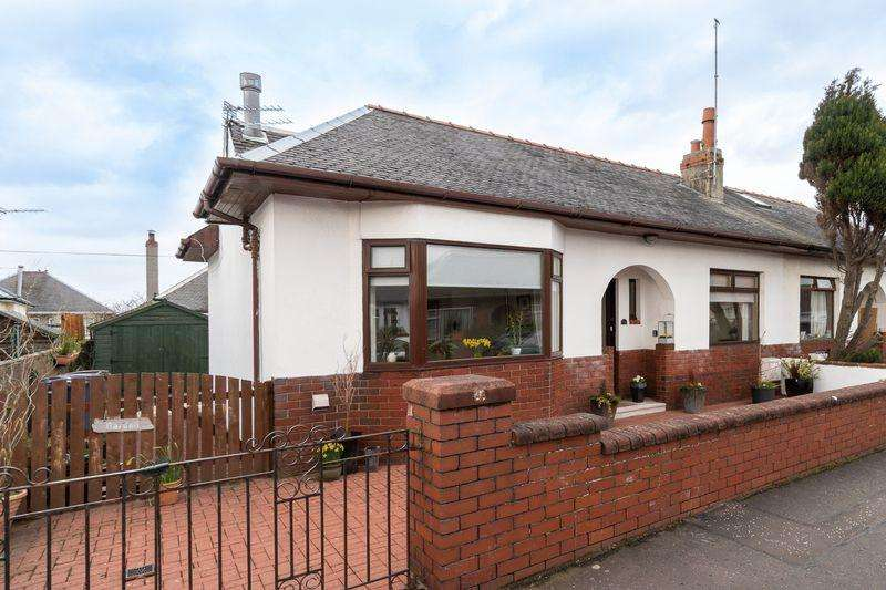 2 Bedrooms Semi Detached Bungalow for sale in 24 Templeton Crescent, Prestwick, KA9 1JA
