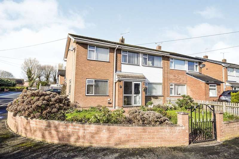 4 Bedrooms Semi Detached House for sale in Alyndale Road, Saltney, Chester, CH4