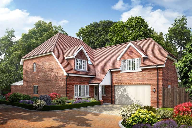 4 Bedrooms Detached House for sale in Larks Hill Place, Watersplash Lane, Warfield, Berkshire, RG42