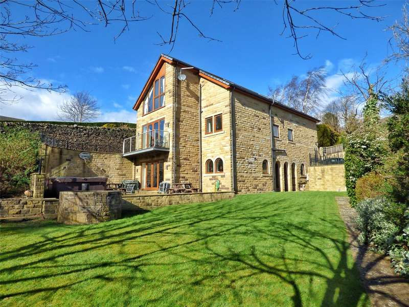 4 Bedrooms Detached House for sale in Parkhead Lane, Holmfirth, West Yorkshire, HD9