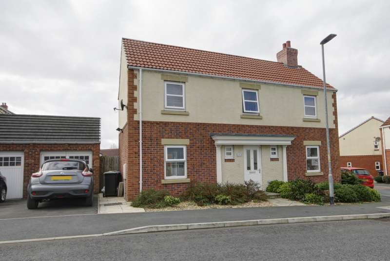 4 Bedrooms Detached House for sale in Mulberry Drive, Spennymoor, County Durham, DL16