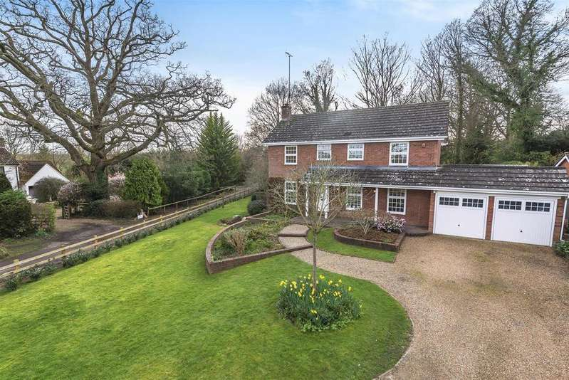 4 Bedrooms Detached House for sale in Longwater Lane, Finchampstead, Berkshire RG40 4NT