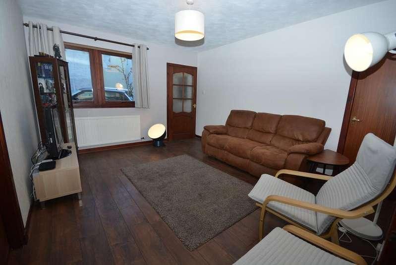 2 Bedrooms Ground Flat for sale in Moodie Court, Kilmarnock, KA1