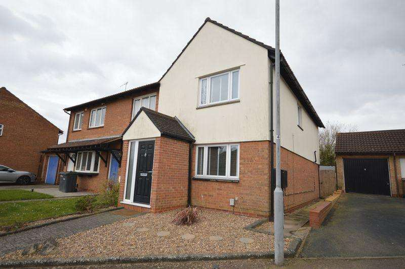 3 Bedrooms End Of Terrace House for sale in Wootton Close, Luton